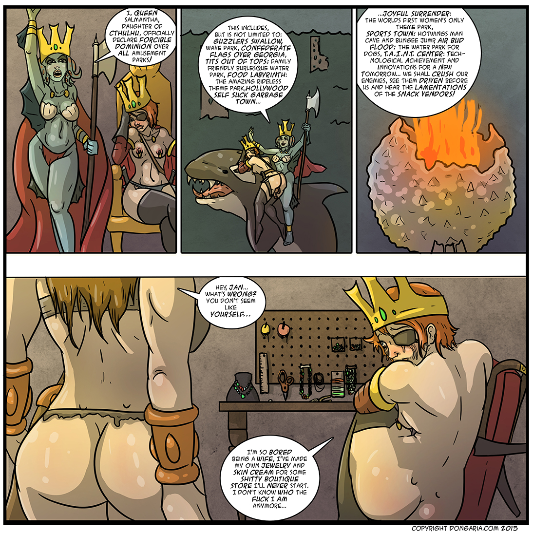 Babes of Dongaria Chapter 2 Page 38: Everybody Wants To Rule The World
