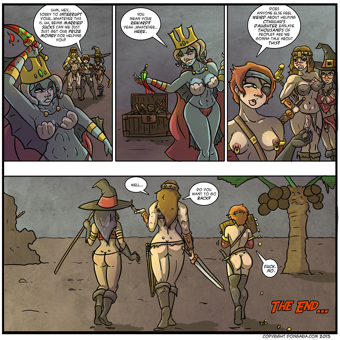 Babes of Dongaria Chapter 2: page 40, Time To Say Goodbye