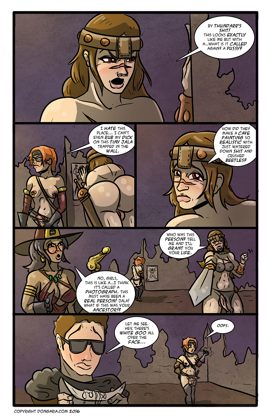 Babes of Dongaria Chapter 3 Page 6: Like Looking In a Mirror