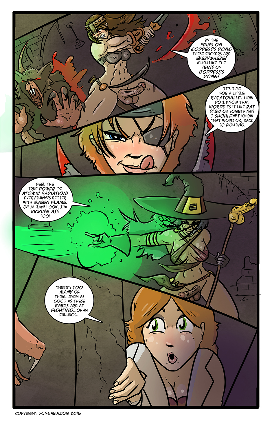 Babes of Dongaria Chapter 3 Page 13: Rat Smashin'