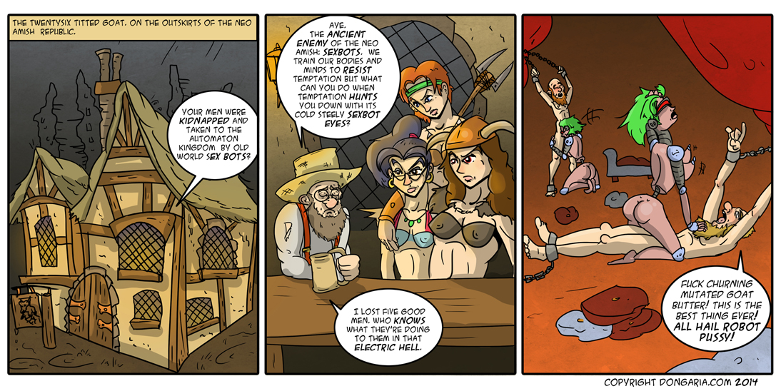 Babes of Dongaria Page 5: Old Enemies