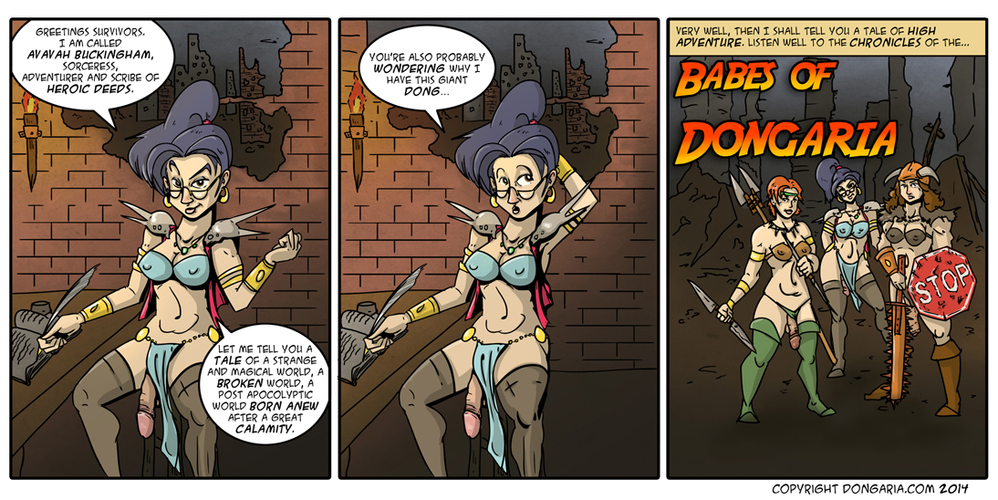 Babes of Dongaria: The Embarkment of Dongs
