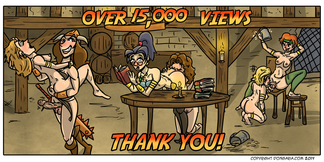 THANK YOU! OVER 15,000 VIEWS!