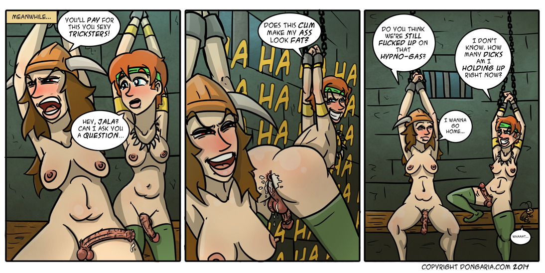 Babes of Dongaria Page 24: Captive Audience