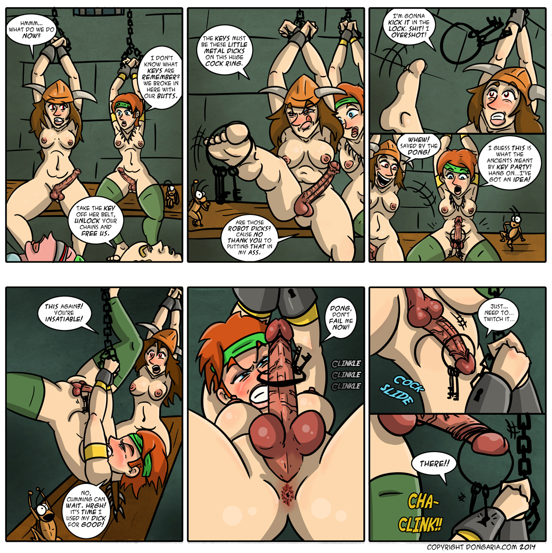 Babes of Dongaria Page 27: Mission Implausible