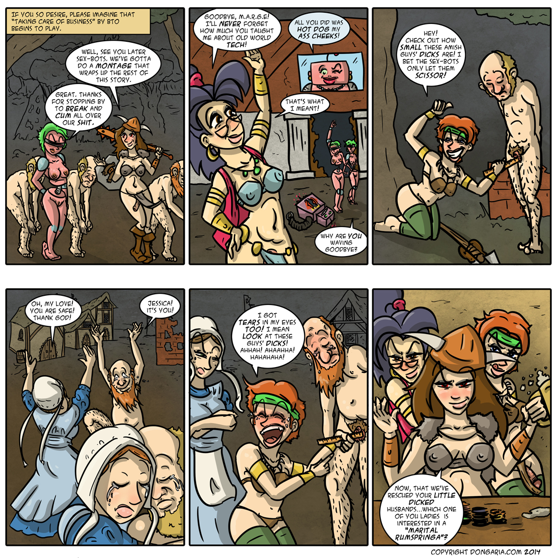 Babes of Dongaria Page 32: All's Well That Ends Well