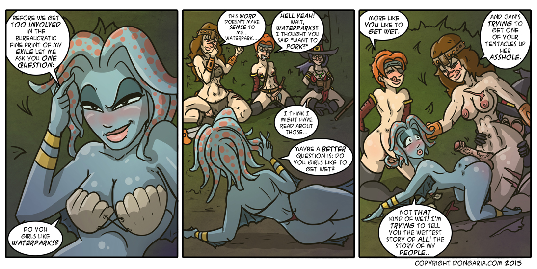 Babes of Dongaria Chapter 2 Page 6: A Tale As Old As Time