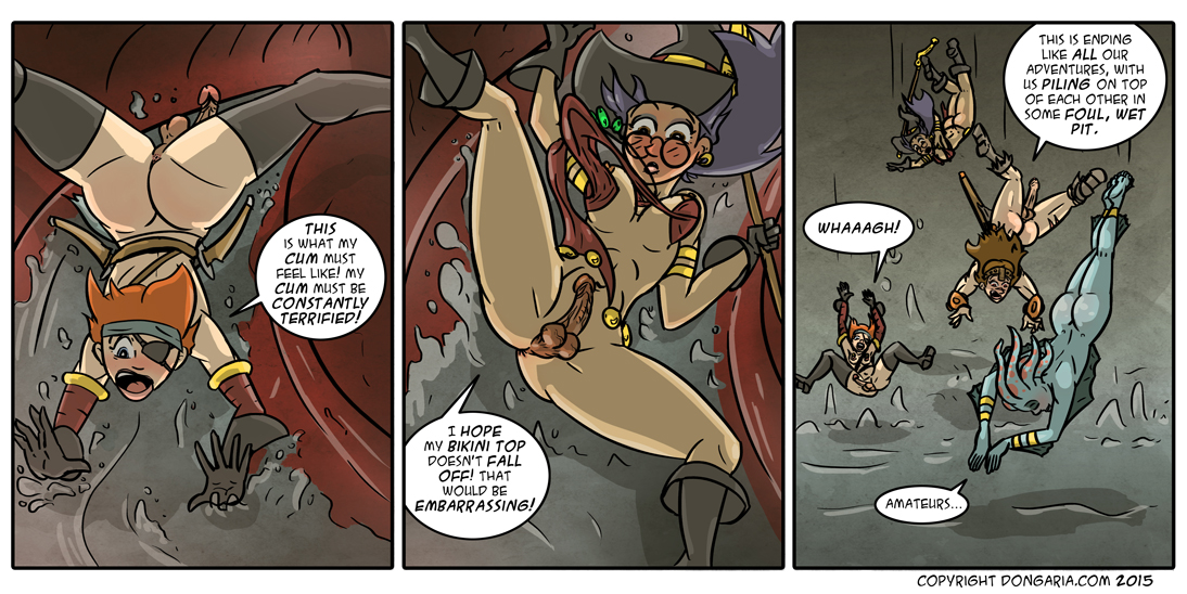Babes of Dongaria Chapter 2 Page 21: Down The Hatch!
