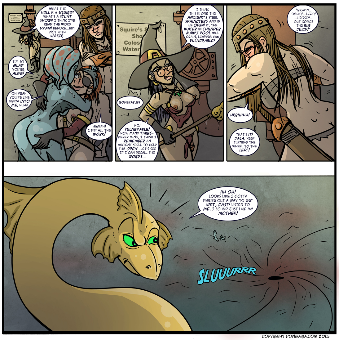 Babes of Dongaria Chapter 2 Page 23: Lefty Loosey