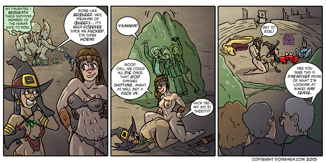 Babes of Dongaria Chapter 2 Page 31: Paradise Reborn