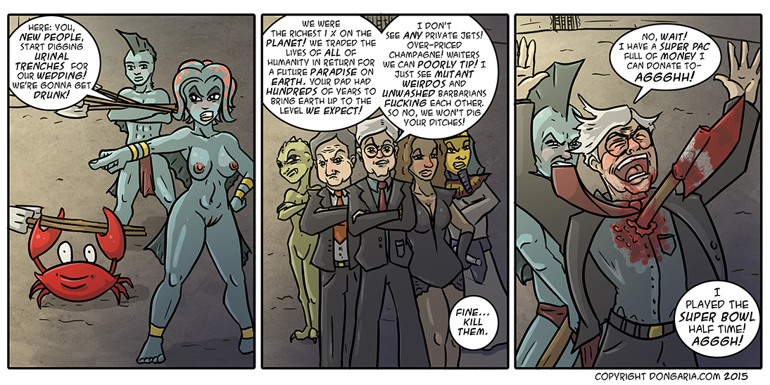 Babes of Dongaria Chapter 2 Page 33: Ditch Diggers